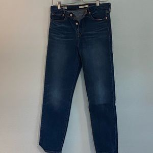 Levi's Wedgie Button Fly jeans